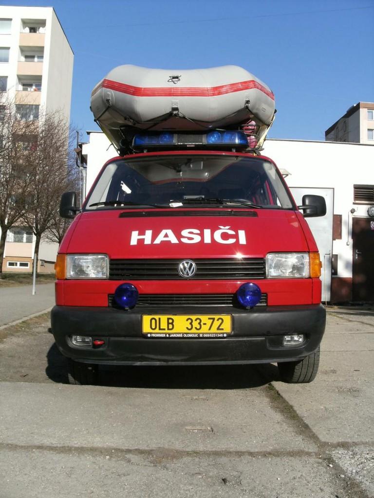 VW Transporter - zásahové vozidlo SDH Holice