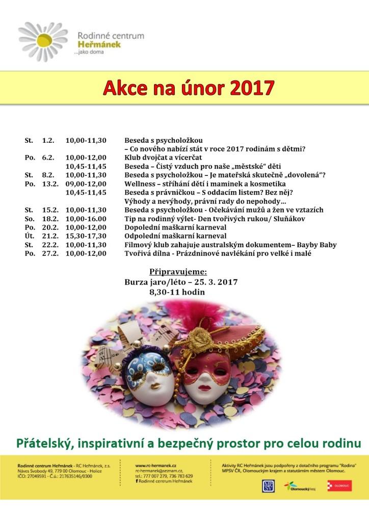 Akce na únor 2017-1
